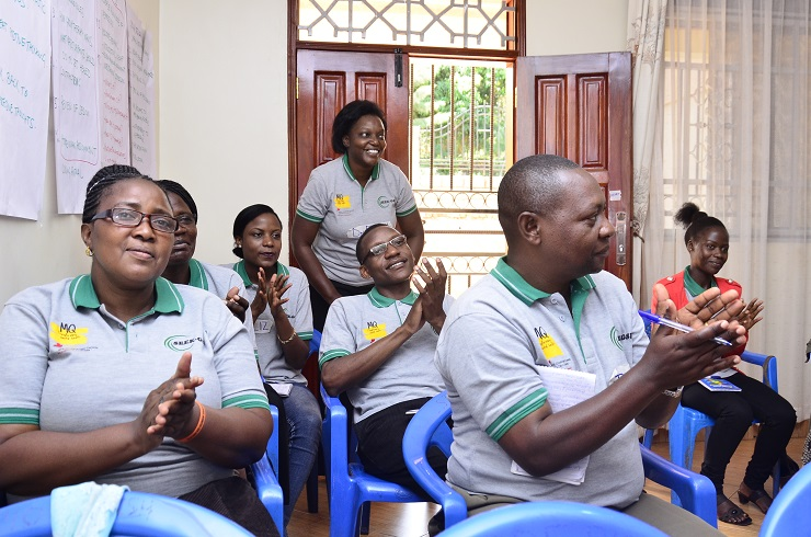 Group Therapy Training in Entebbe